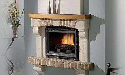 cheminée bois nérac